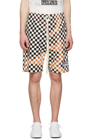 Herman - Black & White Checker Shorts