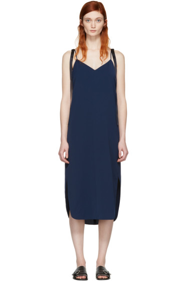 Kuho - Navy Sika Slip Dress