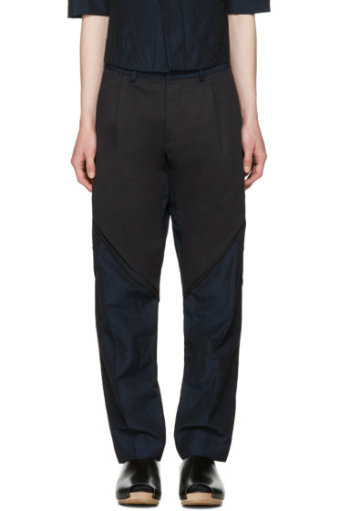 Abasi Rosborough - Indigo Arc Trousers