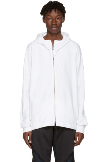 Abasi Rosborough - White Arc Hoodie