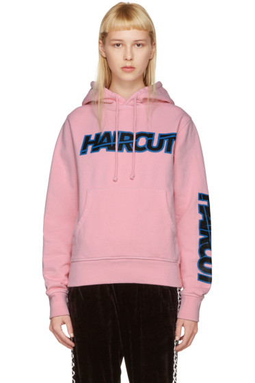 Ashley Williams - Pink River Phoenix 'Haircut' Hoodie