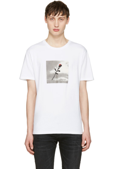 Resort Corps - White VHS Rose T-Shirt