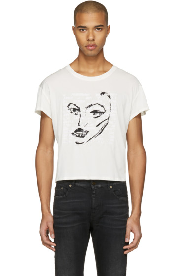 Empathy Los Angeles - Ivory 'Power' T-Shirt