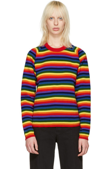 Molly Goddard - Multicolor Rainbow Charlie Sweater