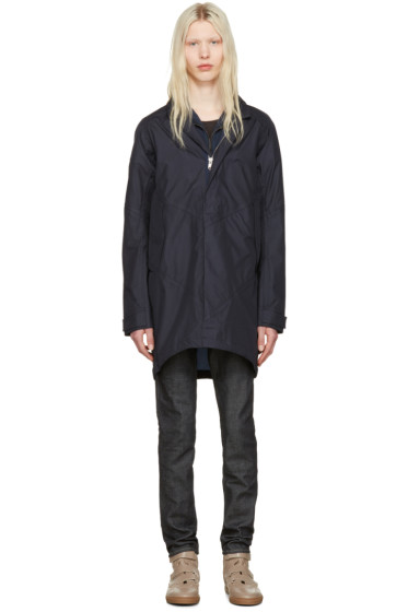nonnative - Navy Nylon Roamer Coat
