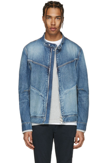 nonnative - Indigo Denim Rider Jacket