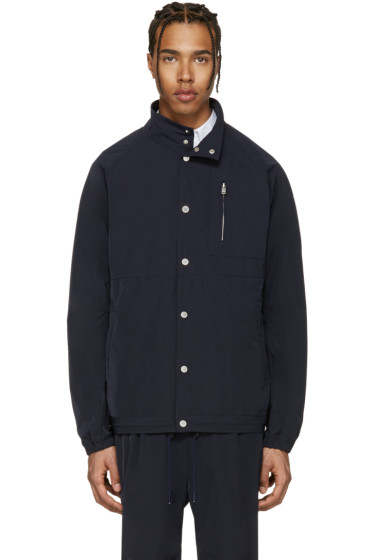 nonnative - Navy Coach Jacket