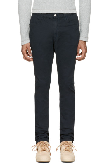 nonnative - Navy Dweller 4P Chinos
