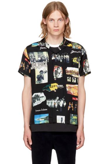 - Black Kingston Jamaica Hawaiian Shirt