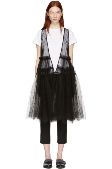 Chika Kisada - Black Tulle Vest