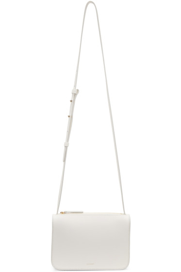 Cuero&Mor - White Mini Crossbody Bag