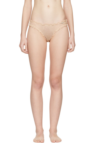 Le Petit Trou - Beige Margot Bikini Briefs