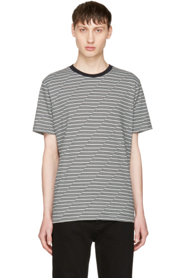 Diesel - Black & White T-Alanis T-Shirt
