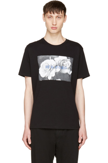 Diesel - Black 'It's Okay' T-Joe-QL T-Shirt