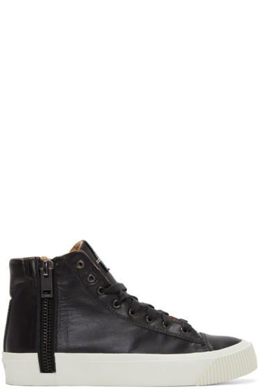 Diesel - Black S-Voyage High-Top Sneakers