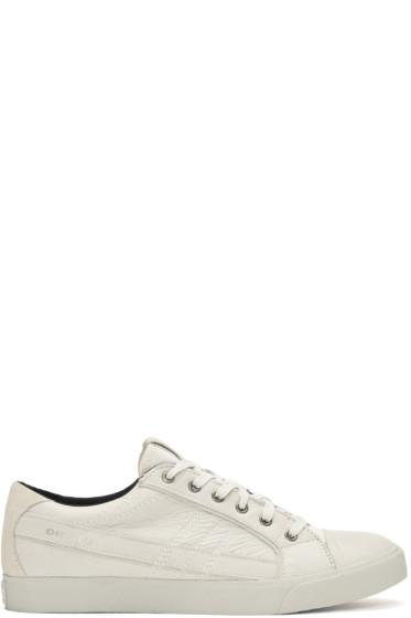 Diesel - Off-White D-String Low Sneakers