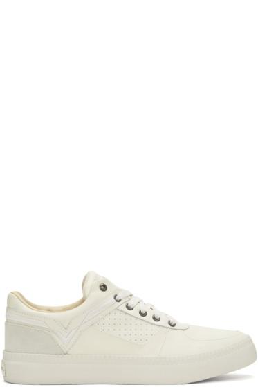 Diesel - Off-White S-Spaark Low Sneakers