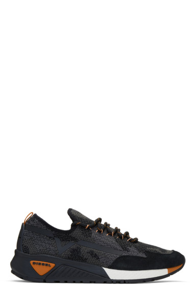 Diesel - Black & Grey S-KBY Sneakers