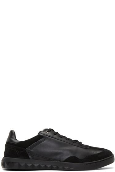 Diesel - Black S-Studshean Sneakers