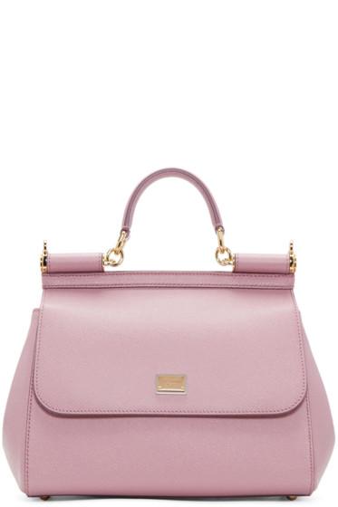 Dolce & Gabbana - Pink Medium Miss Sicily Bag
