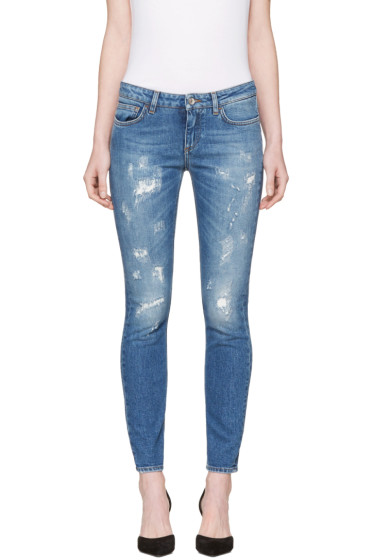 Dolce & Gabbana - Blue Pretty Fit Jeans
