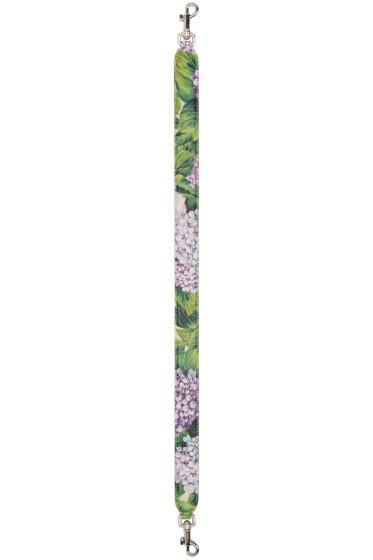 Dolce & Gabbana - Multicolor Short Ortensia Shoulder Strap