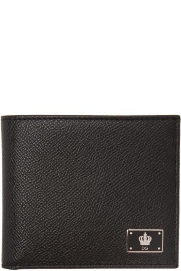 Dolce & Gabbana - Black Crown Wallet