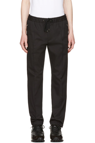 Dolce & Gabbana - Black Tapered Trousers