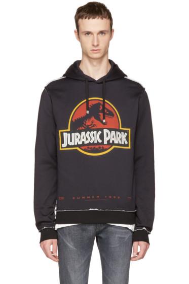 Dolce & Gabbana - Black 'Jurassic Park' Hoodie