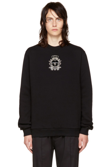 Dolce & Gabbana - Black Bee Sweatshirt