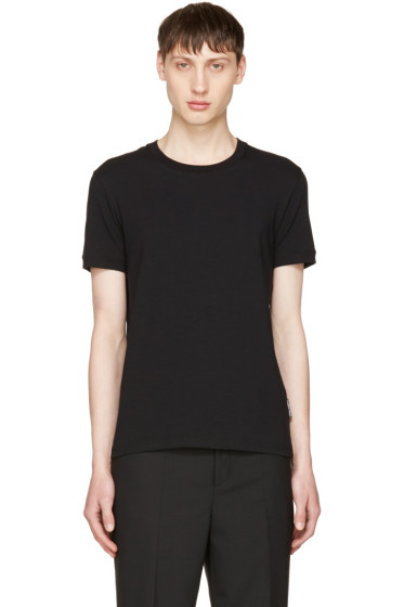 Dolce & Gabbana - Black Pure R-Neck T-Shirt
