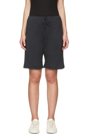 R13 - Black Field Shorts