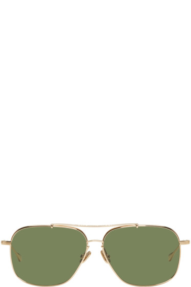 Native Sons - Gold Ryder Sunglasses
