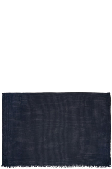 Rag & Bone - Navy Buckley Scarf
