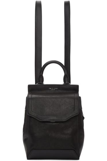 Rag & Bone - Black Small Pilot II Backpack