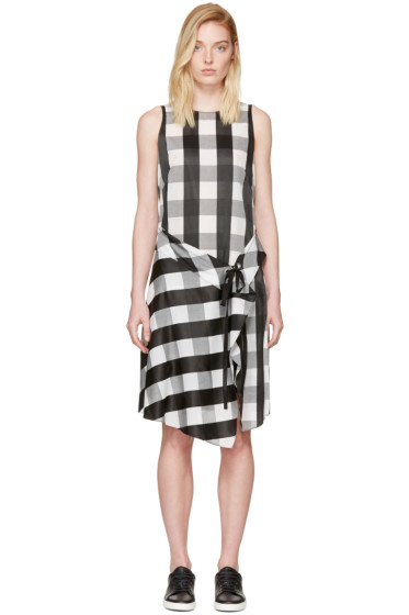 Rag & Bone - Black & White Check Brighton Dress