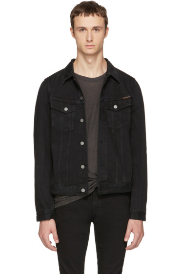 Nudie Jeans - Black Denim Billy Jacket