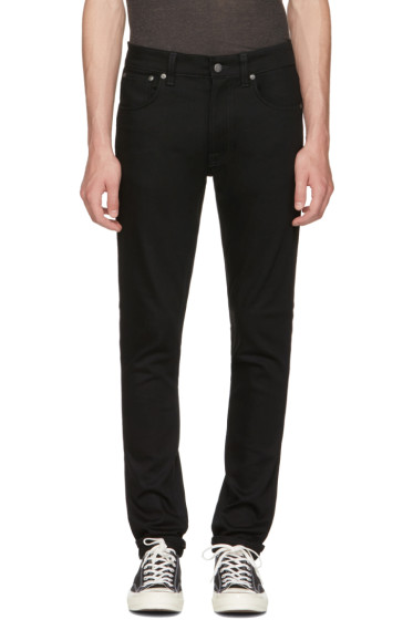 Nudie Jeans - Black Lean Dean Jeans