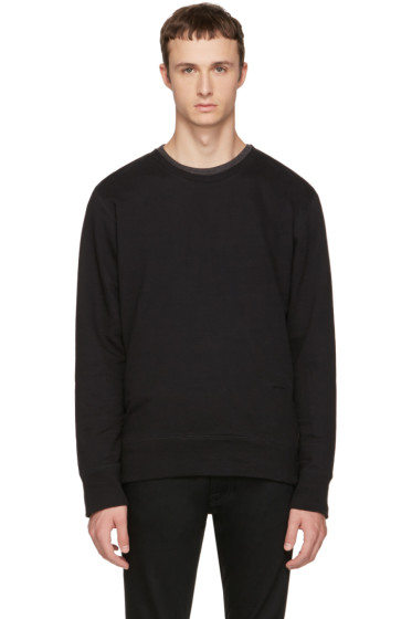 Nudie Jeans - Black Evert Light Sweatshirt