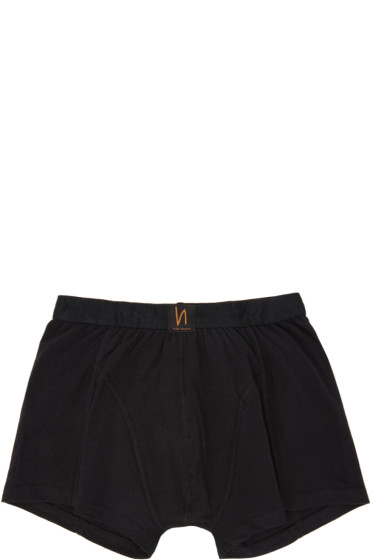 Nudie Jeans - Black Solid Boxer Briefs