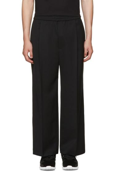 Public School - Black Wide-Leg Hanzo Trousers