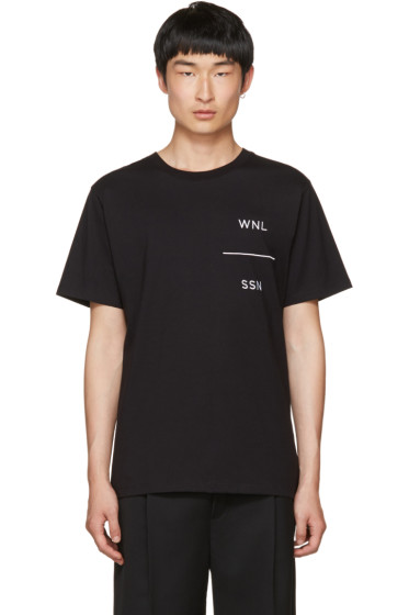Public School - Black WNL Grohl T-Shirt