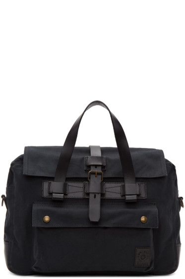 Belstaff - Black Colonial Briefcase