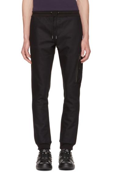 Diesel Black Gold - Black Skinny Zip Lounge Pants