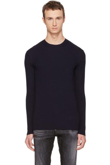 Diesel Black Gold - Navy Wool Kui Sweater