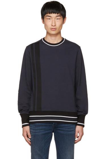 Diesel Black Gold - Navy Tape Sweatshirt