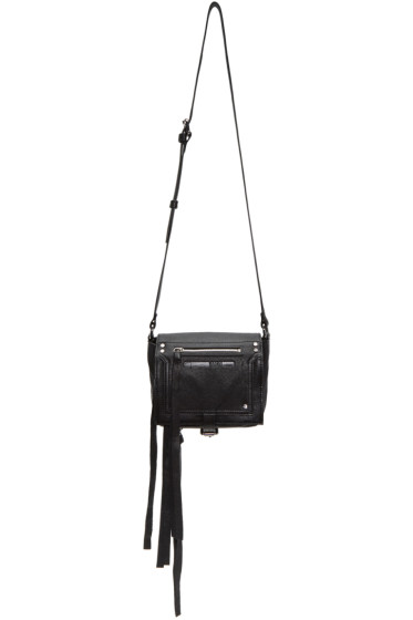 McQ Alexander McQueen - Black Mini Loveless Cross Body Bag