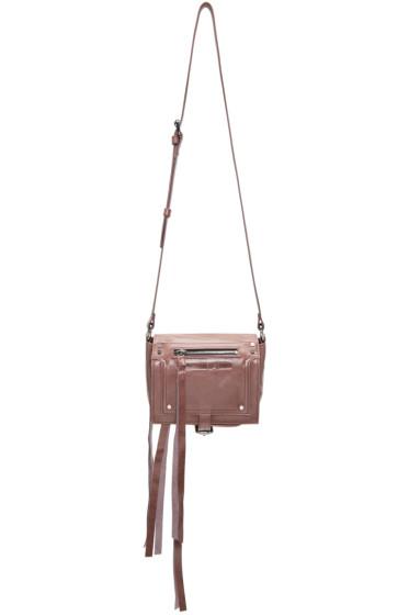 McQ Alexander McQueen - Pink Mini Loveless Cross Body Bag