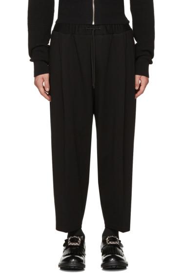 McQ Alexander McQueen - Black Taigen Lounge Pants