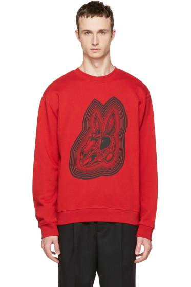 McQ Alexander McQueen - Red Bunny Clean Sweatshirt